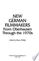 New German Filmmakers