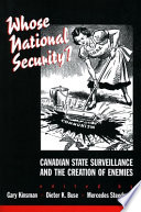 Whose National Security  Book PDF
