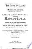 The Gospel Awakening   Book