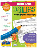 Pdf Indiana Dailies: 180 Daily Activities for Kids