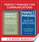 Perfect Phrases For Communications Ebook Bundle