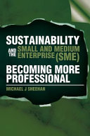 Sustainability And The Small And Medium Enterprise  SME   Becoming More Professional