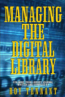Managing the Digital Library Book