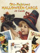Old Fashioned Halloween Cards Book