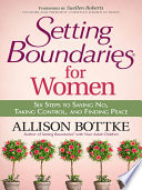 Setting Boundaries For Women Book PDF