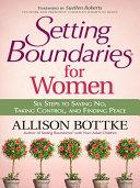 Setting Boundaries® for Women Pdf/ePub eBook