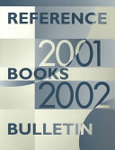 Reference Books Bulletin  2001 2002