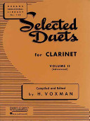 Selected Duets Clarinet - Volume 2