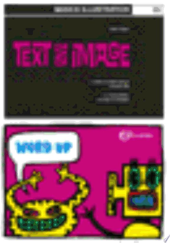 Basics Illustration 03: Text and Im