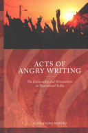 Acts of Angry Writing