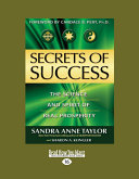 Secrets of Success [Large Print]