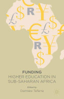 Funding Higher Education in Sub Saharan Africa
