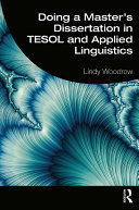 Doing a Master s Dissertation in TESOL and Applied Linguistics