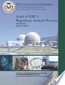 Audit of Nrc's Regulatory Analysis Process