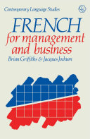 Pdf French for Management and Business Telecharger