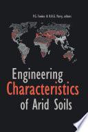 Engineering Characteristics of Arid Soils