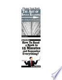 Speed Reading   How To Read Faster and Remember Everything