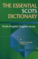 The Essential Scots Dictionary