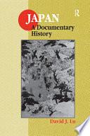 Japan  A Documentary History