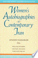 Women's Autobiographies in Contemporary Iran