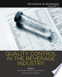 Quality Control in the Beverage Industry Book