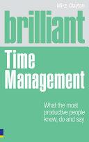 Brilliant Time Management