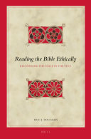 Reading the Bible Ethically