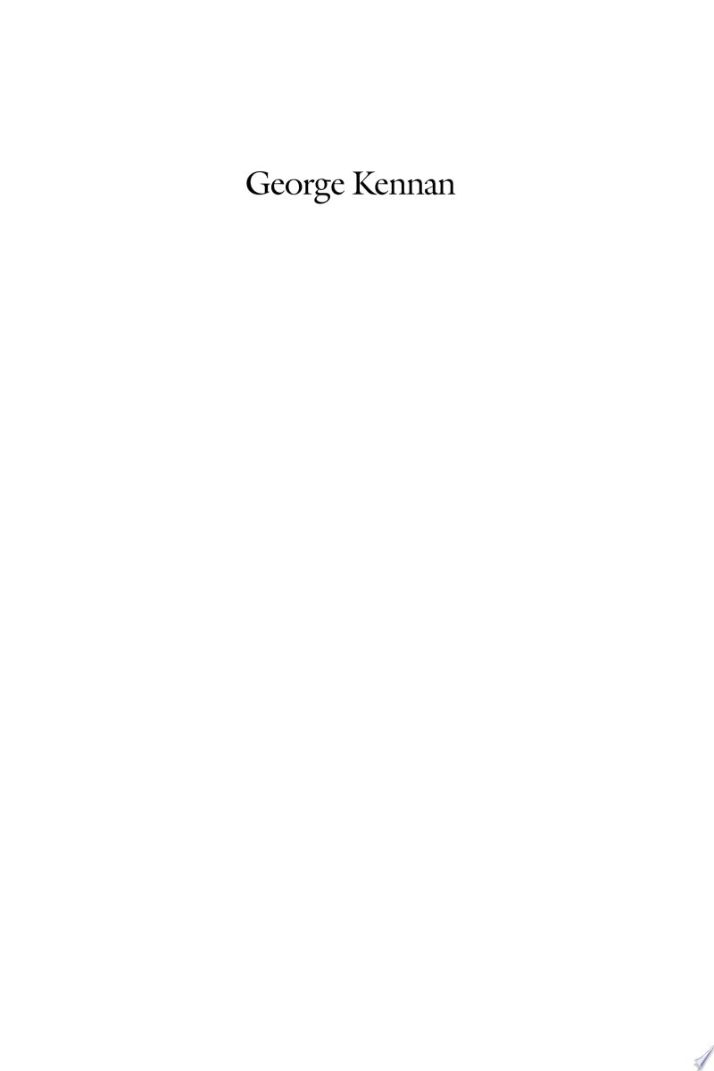 George Kennan banner backdrop