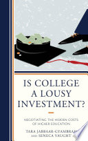 Is College a Lousy Investment