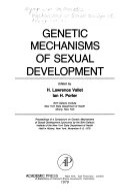 Genetic Mechanisms of Sexual Development Book