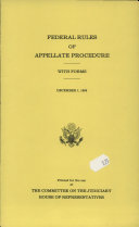 Federal Rules of Appellate Procedure (1995)