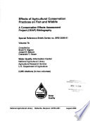 Effects of Agricultural Conservation Practices on Fish and Wildlife