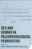 Sex And Gender In Paleopathological Perspective Book PDF