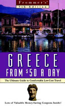 Frommer s Greece From  50 A Day