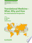 Translational Medicine   What  Why And How  An International Perspective