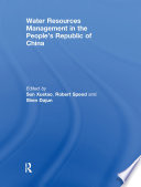 Water Resources Management in the People s Republic of China
