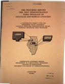 The Test Demonstration Farm Program in Douglas and Bureau Counties