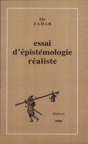 Essai d'épistémologie réaliste