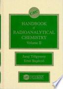 CRC Handbook of Radioanalytical ChemistryVolume 1 Book