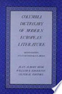 Columbia Dictionary of Modern European Literature