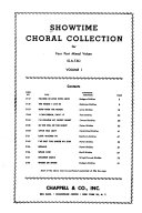 Showtime Choral Collection