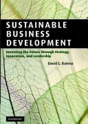 Cover of Sustainable Business Development
