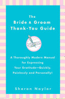 Pdf The Bride & Groom Thank-You Guide