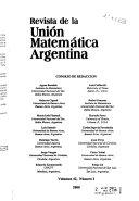 Revista de la Unión Matemática Argentina