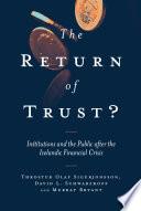The Return of Trust
