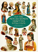 Old Time Men and Women Vignettes in Full Color