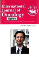 International Journal of Oncology Book