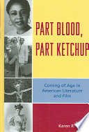 Part Blood  Part Ketchup Book