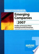 Hoover's Handbook of Emerging Companies 2007