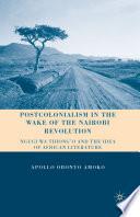 Postcolonialism In The Wake Of The Nairobi Revolution